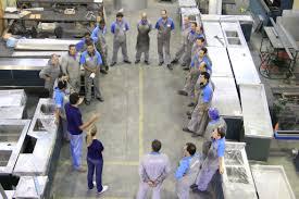 Workers meeting