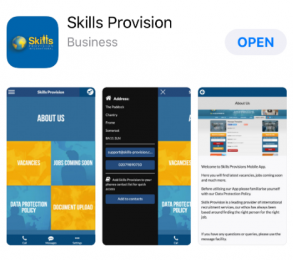 Skills Provision App