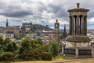 Working in Edinburgh